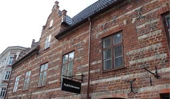Fasad från Södergatan