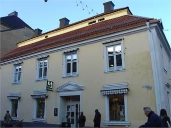 Fastigheten från Storgatan