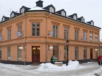 Pampigt hus centralt i Nyköping