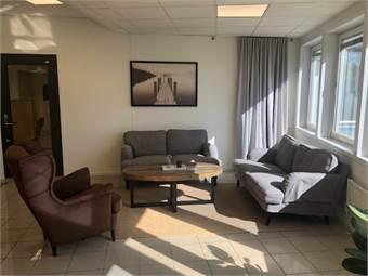 Gemensam lounge på plan 2