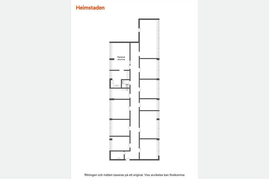 Torggatan5, Centralt, Sandviken - Kontor