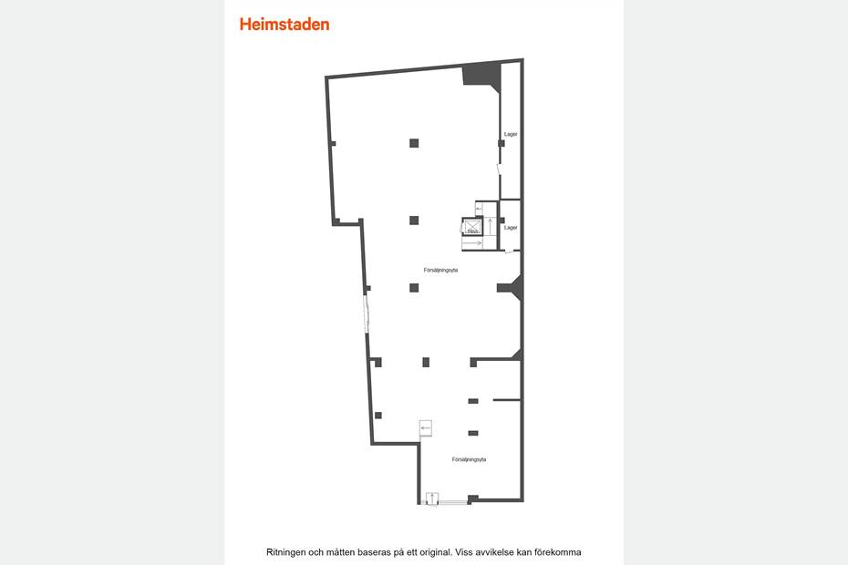 Hyttgatan 31, Centralt, Sandviken - Butik Kontor