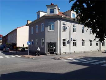 Entre från korsningen Nygatan / Järnvägsgatan