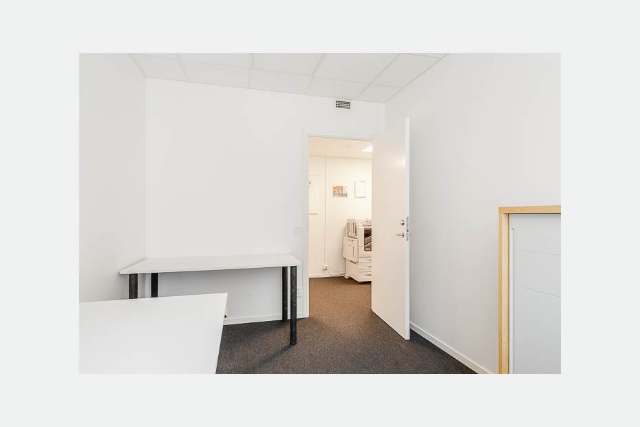 Bra utrymme för besök eller kollega