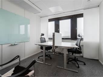 Fullt utrustat och elegant designat kontor