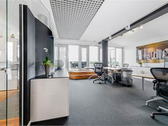 Ursnyggt kontor högst upp