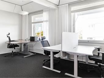 Ljust och trevligt kontor med upp till 4 arbetsplatser