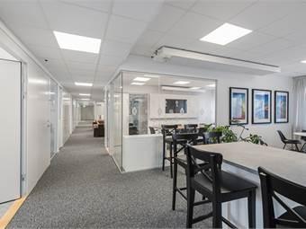 Snyggt designat kontorshotell