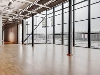 Mycket ljusinsläpp tack vare panoramafönster