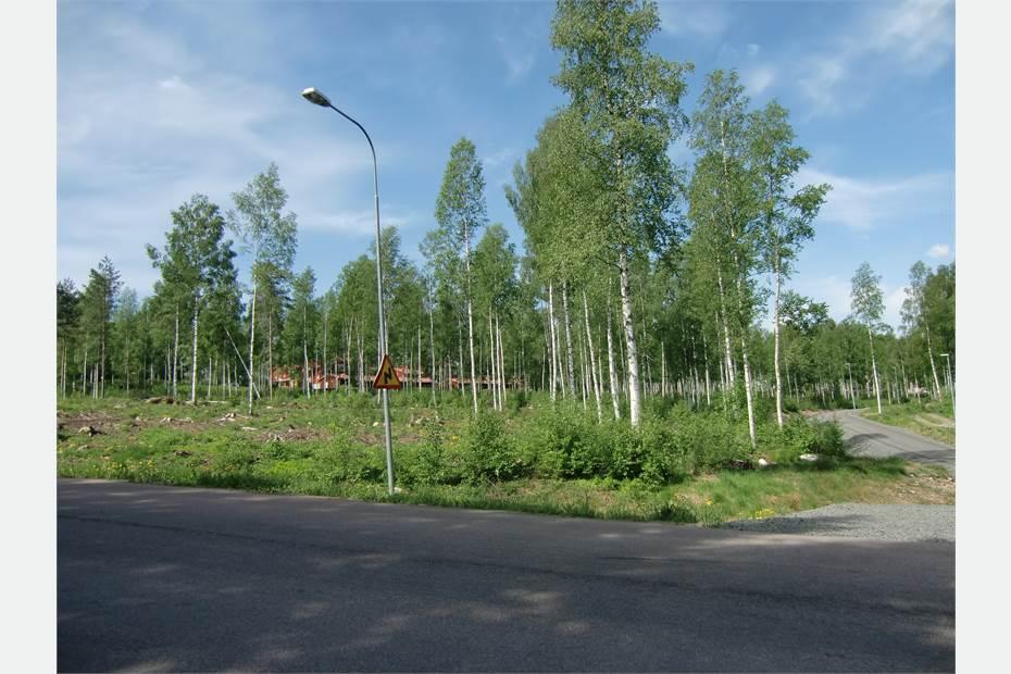 Foto från hörnet Fritidsvägen/Nämnsbovägen