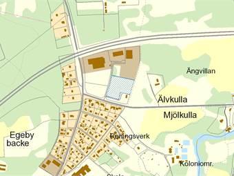 Florettgatan 7, Egeby Industriområde, Mjölby - IndustritomtLagertomtTomt,