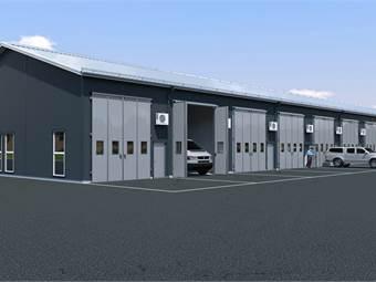 Rental warehouse 16x60-Scene 1