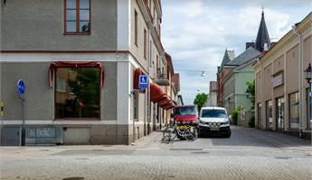 Korsningen Skolgatan-Prästgatan