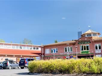 Torvalla centrum från utsidan.