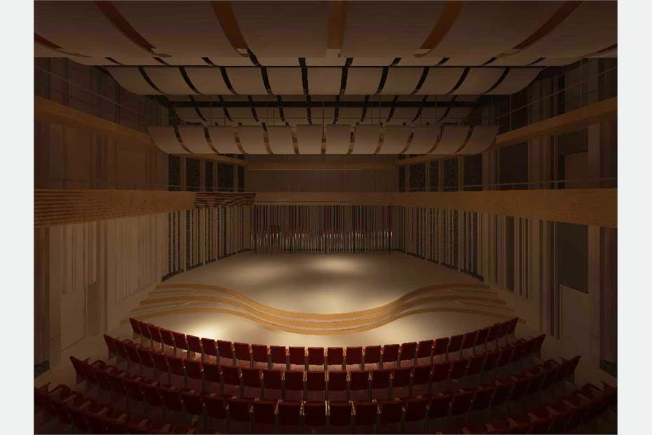 Konserthall för 300 personer
