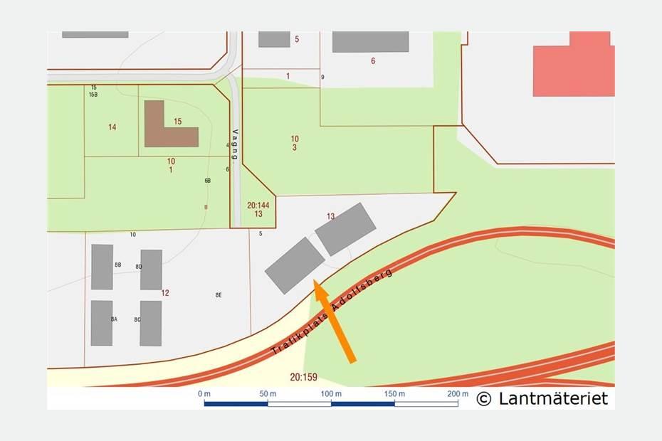 Östra Vagngatan 5, Pilängen, Örebro - Industri/VerkstadKontorKon
