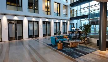 Sittgrupp i reception/ lounge