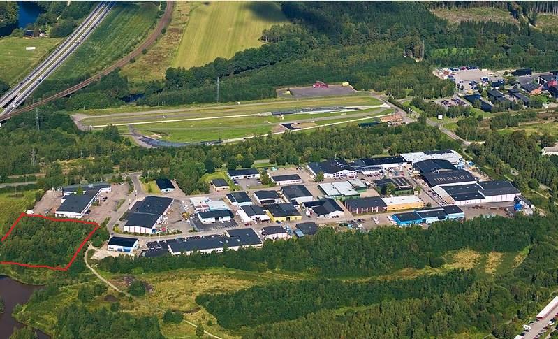 Furuviksringen 45, Kristineheds industriområde, Halmstad - Industritomt Lagertomt Övrig