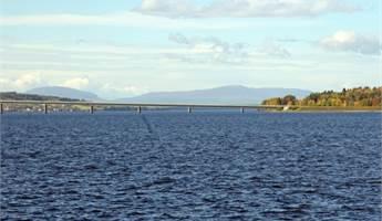 Utsikt mot storsjön