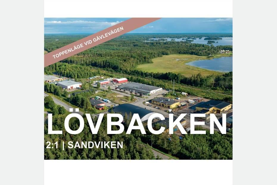 Mullervägen 14, Lövbackens industriområde, Lövbacken - Industritomt Lager/Logistik