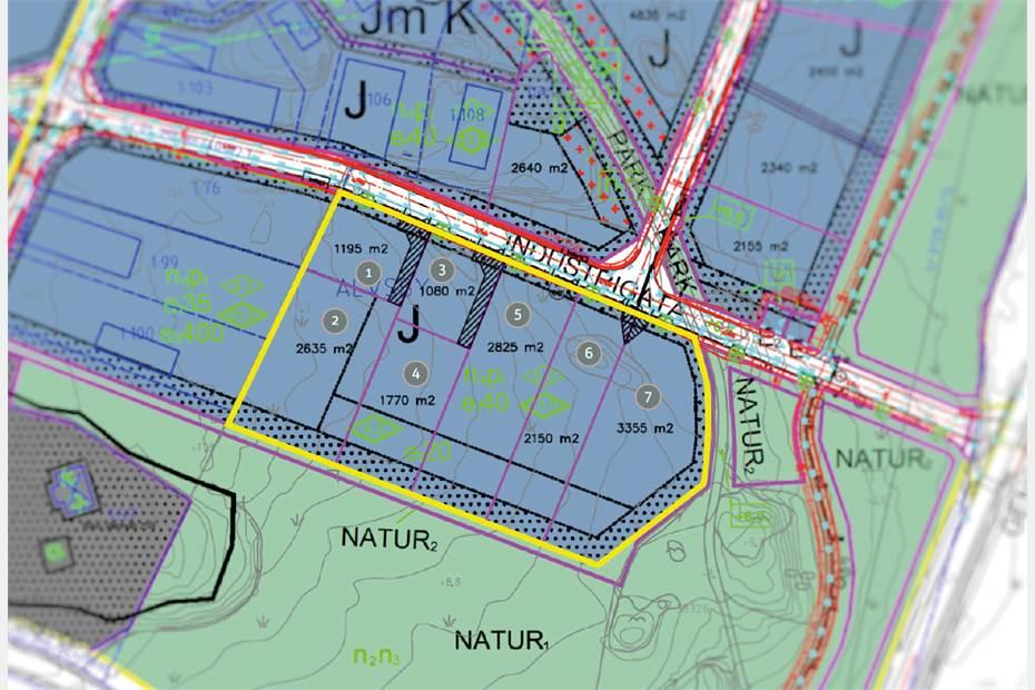 Älvsbyvägen, Älvsby Industriområde, Värmdö - IndustritomtLager/Logistik