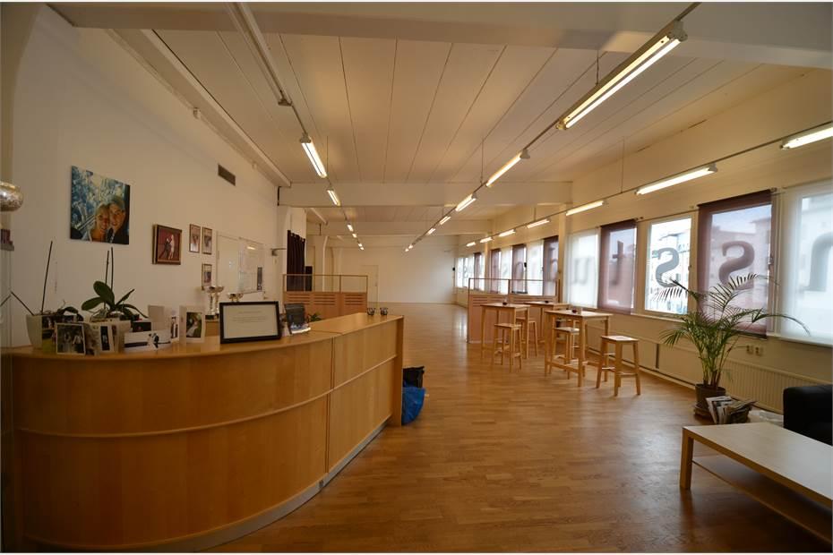 Lokalen sett från entré, Ljusnevägen 3, Bagarmossen, Bagarmossen - Industri/VerkstadKontorKon