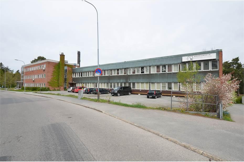 Fastigheten industridel, Ljusnevägen 3, Bagarmossen, Bagarmossen - Industri/VerkstadKontorKon
