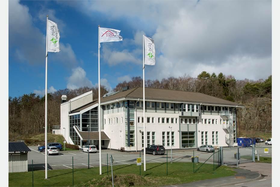 Officecenter Högsbo finns på plan 3, där finns också en underbar takterass.