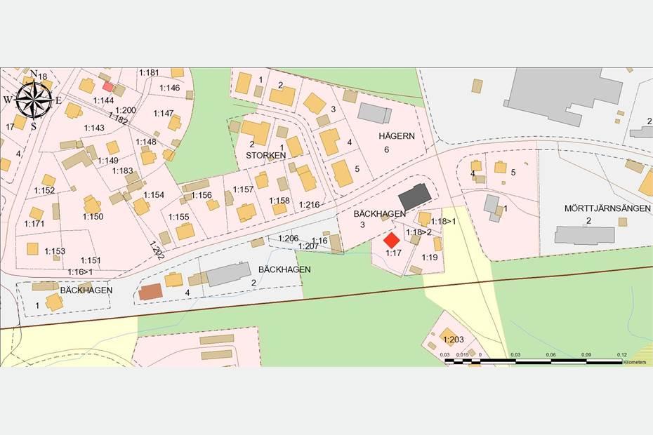 Östra vägen, Östra Filipstad, Filipstad - Industritomt