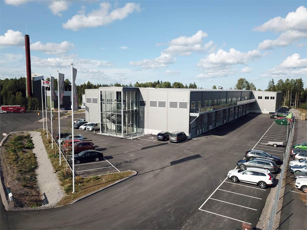 Ersbogatan 18, Ersbo industriområde, Gävle - Kontor