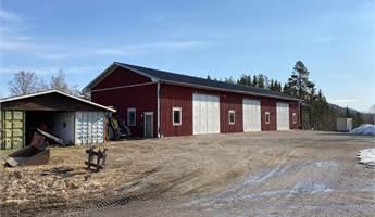 36x12 meter, 3 st höga garageportar 4,5 meter