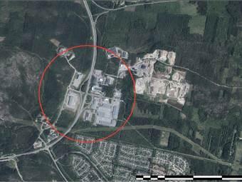 Solbacken, Handels- och Industripark