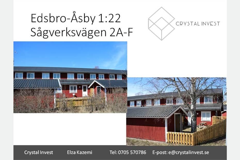 Sågverksvägen 2-4 & Holmensväg, Edsbro, Edsbro - Bostad