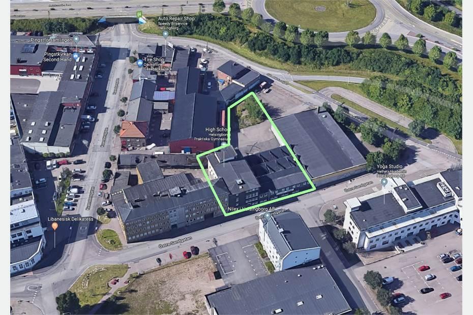 Östra Sandgatan 9 C, Gåsebäck, Helsingborg - KontorÖvrigt