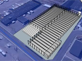 Exempel på hur en ny byggnad kan se ut