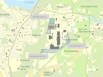 Södra Industriområdet, Horndal, Horndal - Industritomt