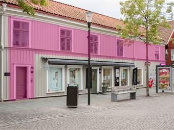 Fasad mot Borgmästargränd