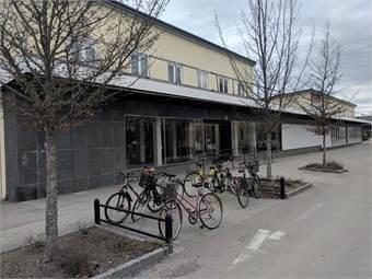 Bild från Köpmansgatan som är en gågata