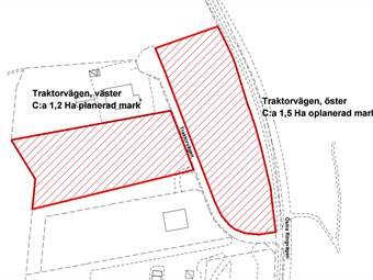 Traktorvägen, Olofström, Olofström - Industritomt