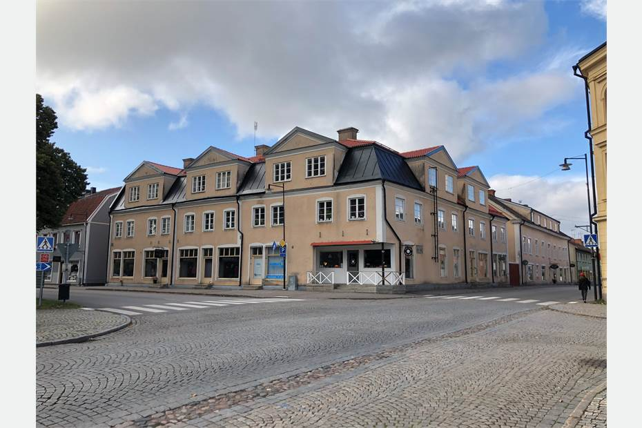 Vadstenagatan 1A, Centrum, Skänninge - Bostad Butik