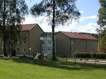 Utsikt från lokalen på Björkvägen 8