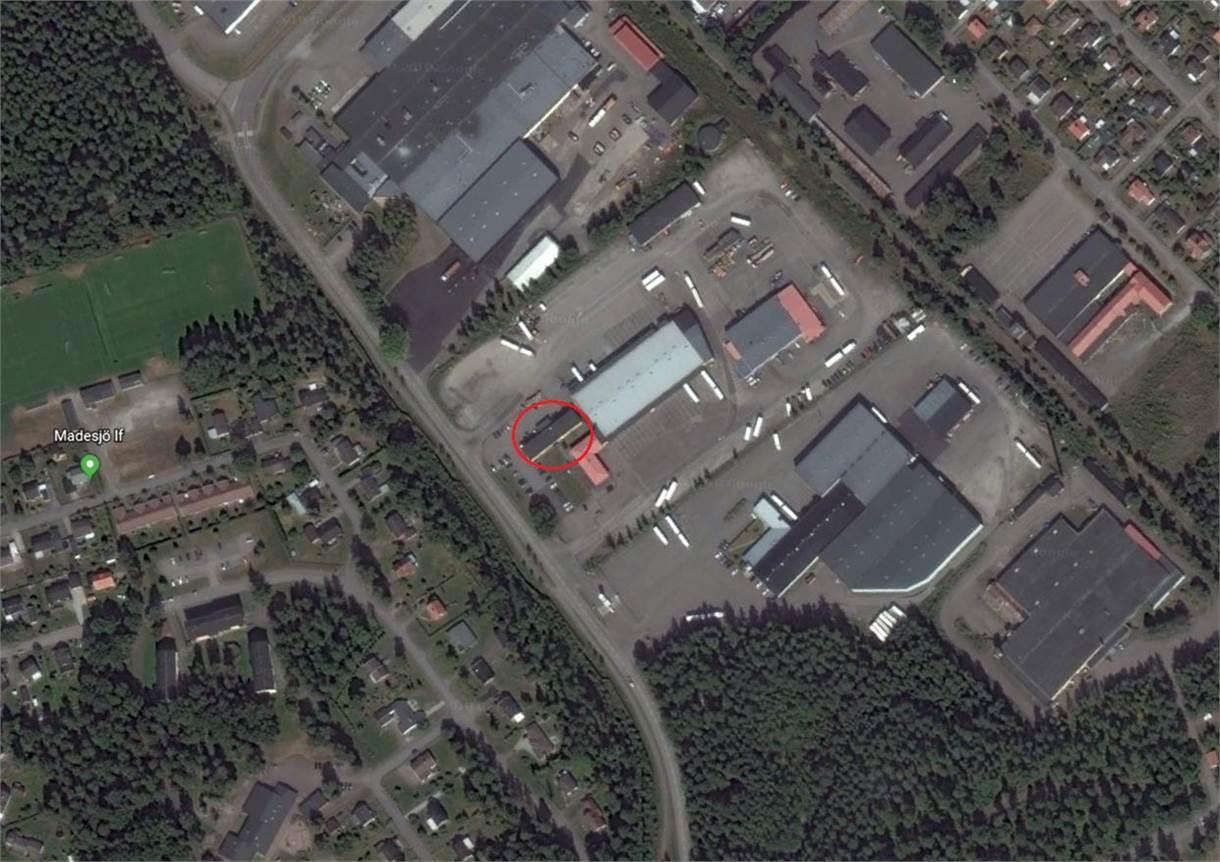 Flygfoto Madesjövägen 15