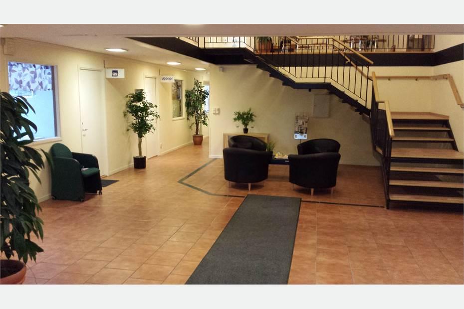 Allmänna ytor i kontorshotellet