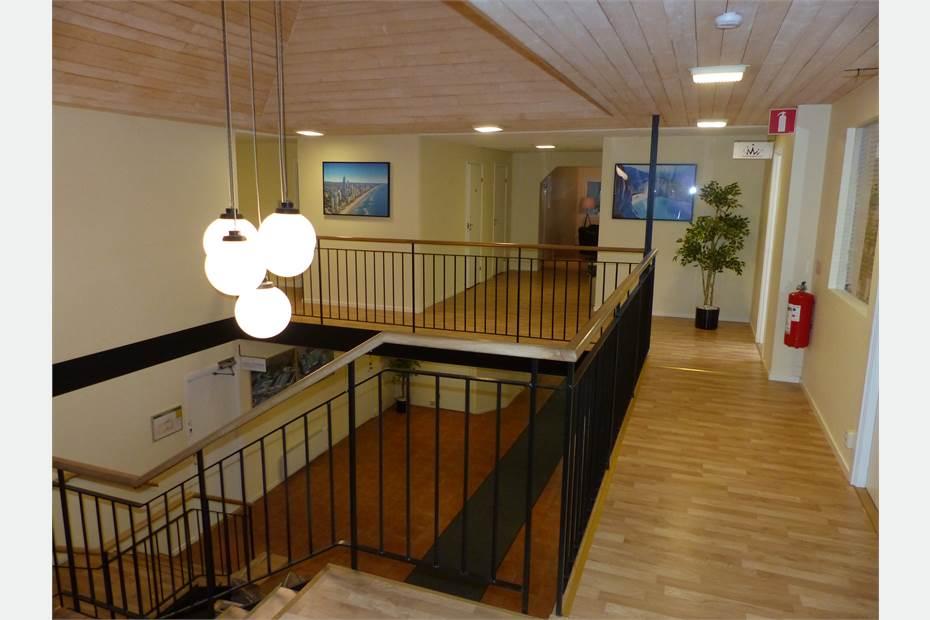 Allmän yta i kontorshotellet