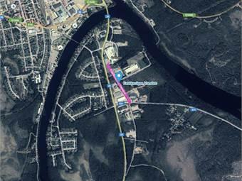 Fabriksvägen, Grönalid, Vansbro - Industritomt