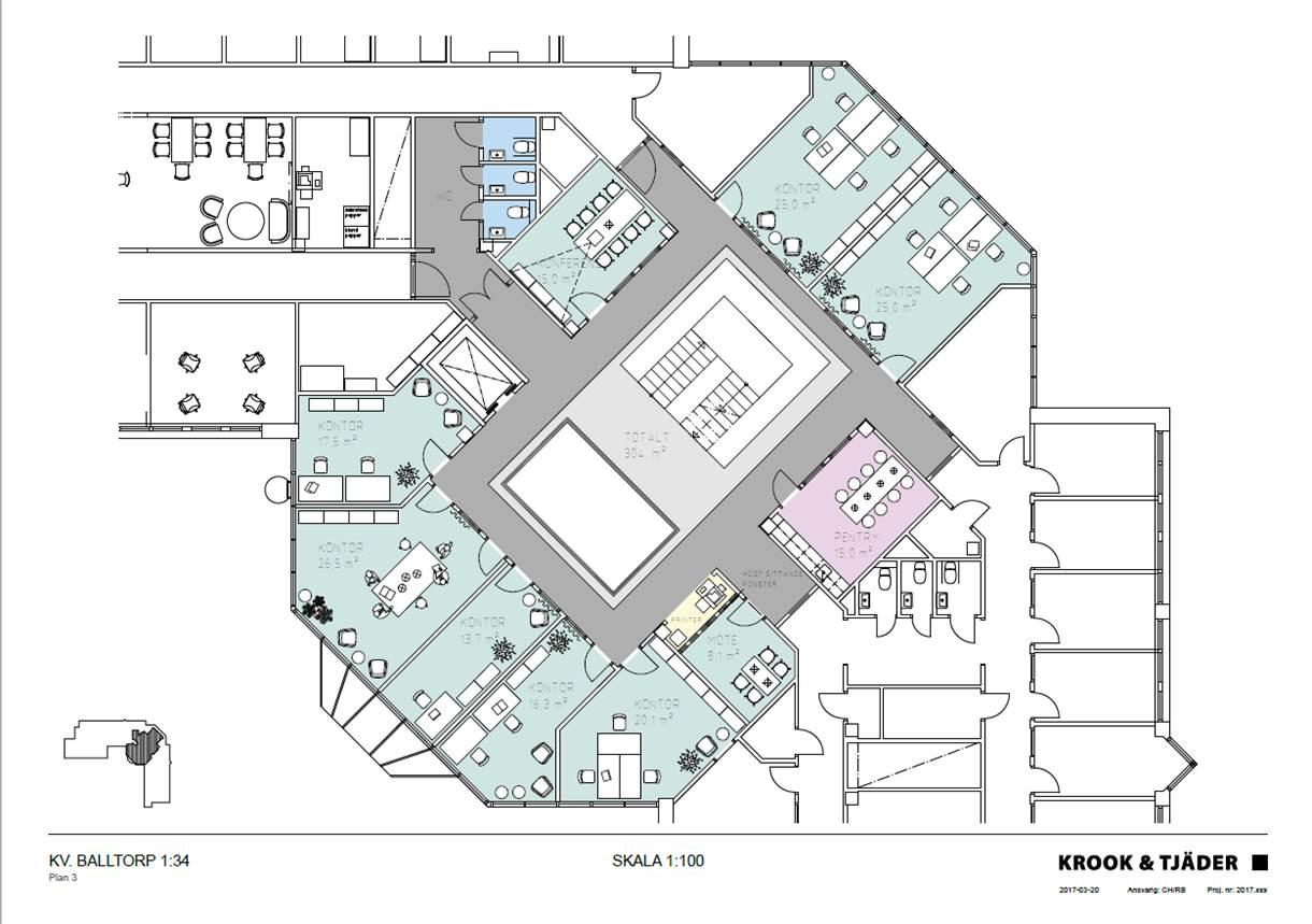 Planlösning våning 2