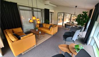 Gemensam, trivsam lounge