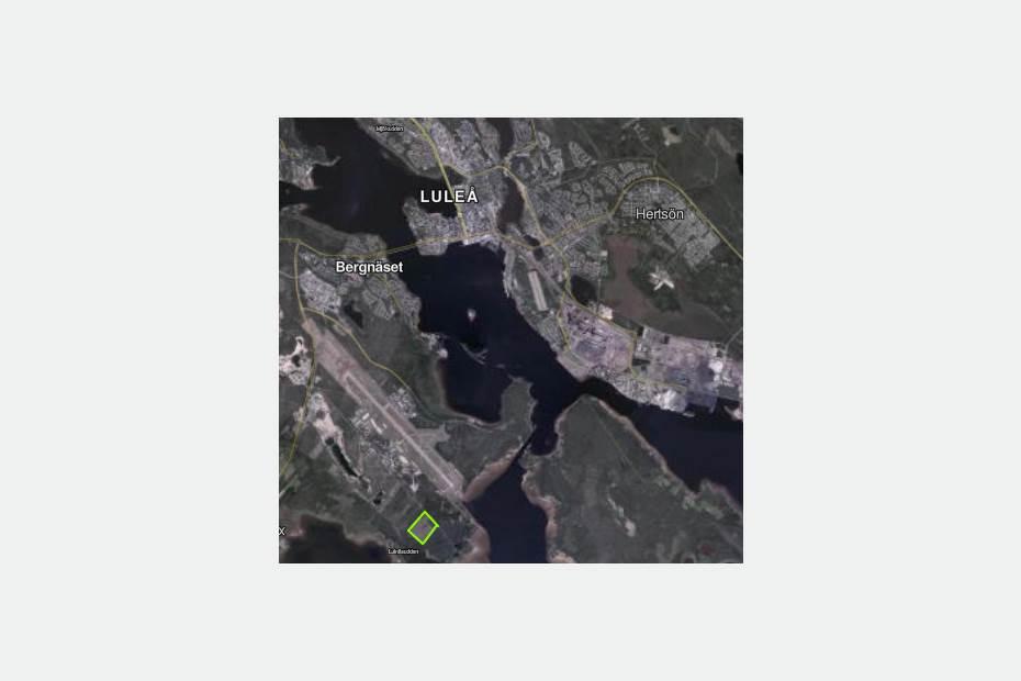 Vattentornsvägen, Bergnäset, Luleå - IndustritomtLager/Logistik