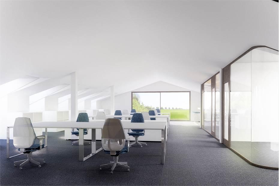 Nytt kontor interiört Trolleberg