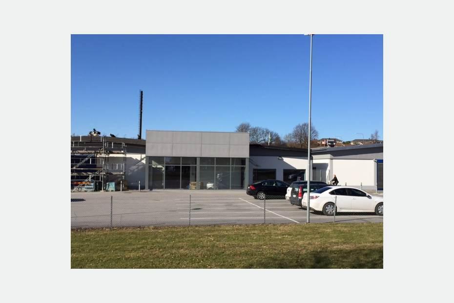 Spaljégatan 2, Ystad, Ystad - ButikIndustri/VerkstadLage